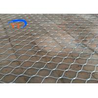 Decorative Balustrade Cable Mesh , SS X Tend Wire Rope Net CE / SGS Certified