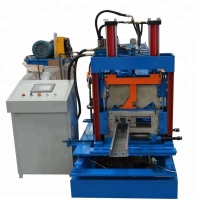 Buy cheap Purlin Roll Forming Machine Professional Construction Automatic z purlin roll forming machine from wholesalers