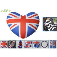 Buy cheap UK Flag Neck Head Pillow Car Comfort Accessories with Heart Shaped from wholesalers