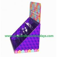 Buy cheap Greeting cards cardboard counter display portable store display box display case from wholesalers