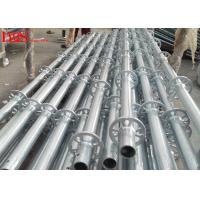 Buy cheap 48.3mm Tube Layher Scaffolding System Galvanized For Concrete Construction product