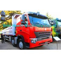 8x4 Heavy Duty Dump Truck for Unloading, EURO II and EURO III emission standard