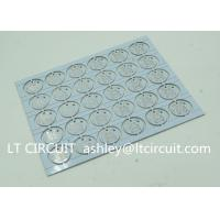 Buy cheap Round LED High Thermal Conductivity PCB Aluminum Based Single Layer from wholesalers