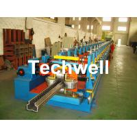 Buy cheap 2.0-3.0mm Heavy Duty Upright Racking / Shelf Roll Forming Machine With JH21-80 Ton Press Machine To Punch Holes from wholesalers