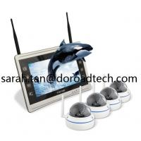 Buy cheap 4CH 1080P WIFI IP Dome Cameras NVR Kit WiFi Camera with HD LCD Screen Display NVR from wholesalers