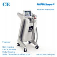 Buy cheap Fast fat removal 250KHZ high intensity ultrasound HIFU slimming machine with CE approval from wholesalers