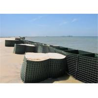 Buy cheap HESCO Flood Barrier / Defensive Barrier With Green Color Geotextile Fabric For Sale from wholesalers