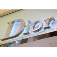 Buy cheap LED channel letters-Metal led backlit letters from wholesalers
