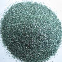 Buy cheap Green silicon carbide SiC 99.0 min Manufacturer from wholesalers