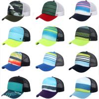 Buy cheap Unisex Baseball Caps Adjustable Trucker Golf Mesh Peak Hat Baseball Snapback Hat from wholesalers