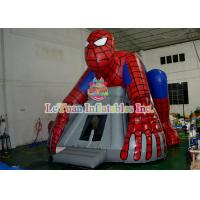 Buy cheap Spiderman Inflatable Bouncer Jumping / Blow Up Bounce House For Children Play from wholesalers