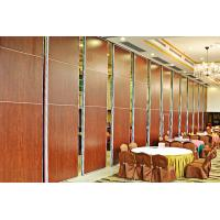 Buy cheap Interior Design Collapsible Movable Partition Walls / Sliding Folding Partitions Movable Walls from wholesalers