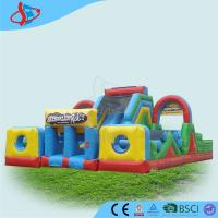 Buy cheap 0.9 mm PVC Assault Course Hire , Inflatable Sports Games , Obstacle Course For Kids from wholesalers