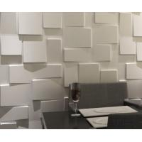 Buy cheap Modern Indoor 3D Wall Clading Block Texture for TV / Sofa Ceramic texture material product