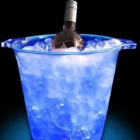 Buy cheap led beer bucket/bottle holder/led plastic cooler cup product