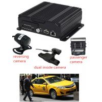 Buy cheap AHD 4CH 1080P taxi  SD Card Mobile DVR with 3G / 4G GPS WIFI  live view and GPS product