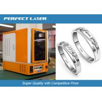 Buy cheap Full Closed Cabinet Laser Marking Machine For Hardware Tools / Kitchen Knives / Bottles from wholesalers