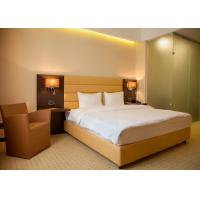 Single Room Modern Hotel Bedroom Furniture , Hotel Guest Room Furniture