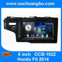 Buy cheap Ouchuangbo multimedia gps radio tape recorder Honda Fit 2014 with BT iPod CD brazil map from wholesalers