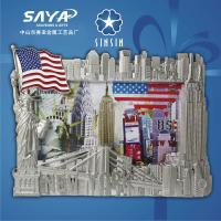Buy cheap Creative metal souvenir New york picture frame/photo frame from wholesalers