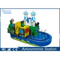Buy cheap 300W Train Ride Coin Operated Arcade Machines Indoor Entertainment For Shopping Mall from wholesalers