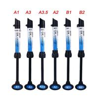 Buy cheap 5Pcs Dental Light Curing Composite Resin Refill Syringe Dentex A1 A2 A3 A3.5 B1 B2 from wholesalers