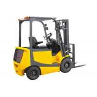 Buy cheap 2.5 Ton 4 Wheel Electric Forklift Truck Battery Operated With Seat Energy Saving from wholesalers
