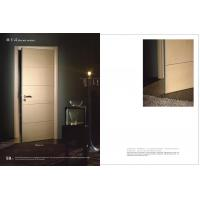 Buy cheap HS-16 Swing Side Hinged Doors With Hdf Board, Durable Hinged Fir Wooden Interior Door 2100*900mm Factory from wholesalers