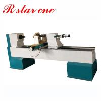 Buy cheap Hot sale 1500mm automatic cnc wood turning lathe for wooden legs from wholesalers