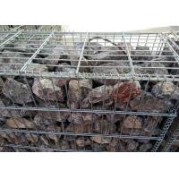 Buy cheap Iron Wire Galvanized Gabion Box / High Security Gabion Wire Mesh Panels from wholesalers