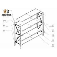 Buy cheap Cold Rolled Steel Medium Duty Storage Rack / Pallet Rack Parts from wholesalers