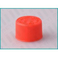 Buy cheap 20/410 Red Screw Top CRC Child Resistant CapsPlastic Ribbed Closure from wholesalers