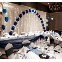 Buy cheap Luxury Party Event telescoping Pipe And Drape Stand With Sheer Curtain from wholesalers