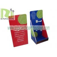 Cardboard Counter Displays With Hooks Corrugated Point Of Purchase Displays ENCD077