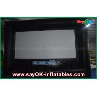 Buy cheap Outdoor Black and White Inflatable Projector Movie Screen Oxford Cloth from wholesalers