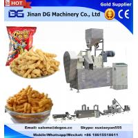 Buy cheap Automatic corn grits cheetos/kurkure/nik naks/corn curls extruder making machine manufacturer production plant from wholesalers