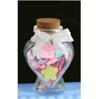 Buy cheap Wish Glass Bottle,Heart Glass Jar from wholesalers
