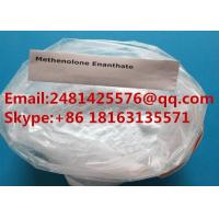 Buy cheap Oral Raw Muscle Mass Anabolic Steroids Methenolone Enanthate Powder CAS 303-42-4 from wholesalers