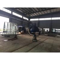 Buy cheap 2M Or Customized Inner Diameter Autoclave Machine / Glass Autoclave For Bricks / Glass / Wood product