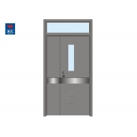 Buy cheap Steel Vision Panels 1 Hour FD60 Fire Doors For Hospitals from wholesalers