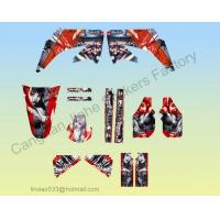 Buy cheap Matter Hatter Graphic Kit For CRF450 Dirt bike Pit Bike Decal Kit from wholesalers