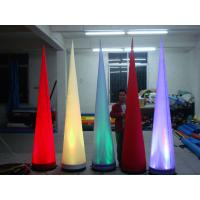 Buy cheap inflatable light cone for wedding decoration from wholesalers