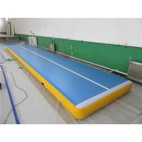 Buy cheap Commercial Air Gym Mat , Inflatable Gymnastics Equipment Tumble Track from wholesalers