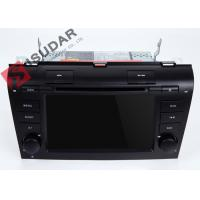 Buy cheap Windows CE Gps Bluetooth  Touch Screen Car Head Unit For Mazda 3 Dvd Navigation System product