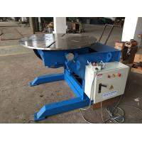 Buy cheap 380V Q235 Manual Welding Positioner 1200mm Table Diameter Easy Operation from wholesalers