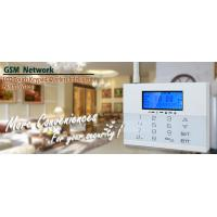 Buy cheap LCD Icons Touch Keypad House GSM PSTN Burglar Alarm Systems with Wireless Flash Siren from wholesalers