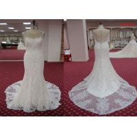 Buy cheap Traditional A Line Mermaid Wedding Dresses , Fishtail Court Train Wedding Dress from wholesalers