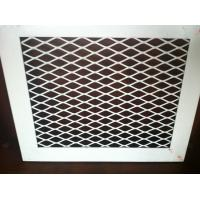 Buy cheap plastic coating Decorative Mesh Panels , Low Carbon Steel Perforated Ceiling from wholesalers