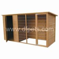 Buy cheap 2010 Large Wooden Dog Cage  DFD013 from wholesalers