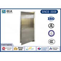 Buy cheap Soundproof Stainless Steel Entry Door / Anti Theft Fire Rated Metal Doors from wholesalers